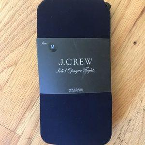J.Crew M black tights